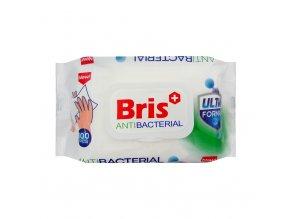 bris antibacterial vlhcene ubrousky 100ks