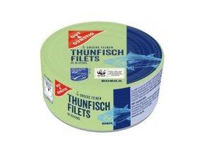 g g filety z tunaka se zeleninou v dresinku 185g
