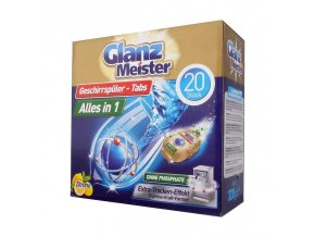 glanz meister tablety do mycky 20ks