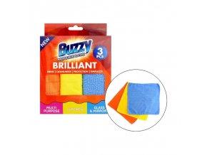 buzzy uterky z mikrovlakna 3ks 1