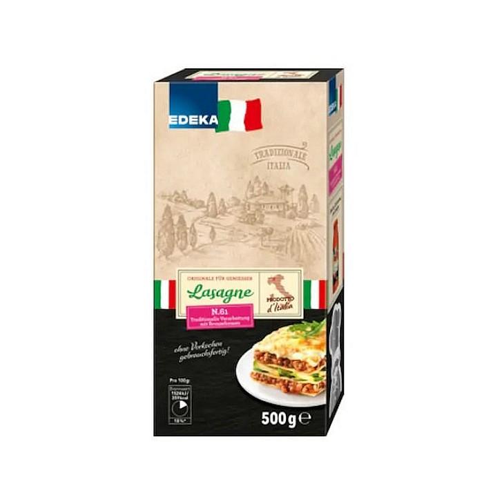 Levně Edeka (Německo) EDEKA Italské Lasagne n.61 500g
