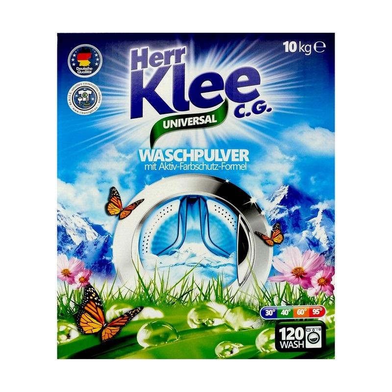 Levně Herr Klee (Německo) HERR KLEE UNIVERSAL BOX Německý prací prášek 10kg (120dávek)