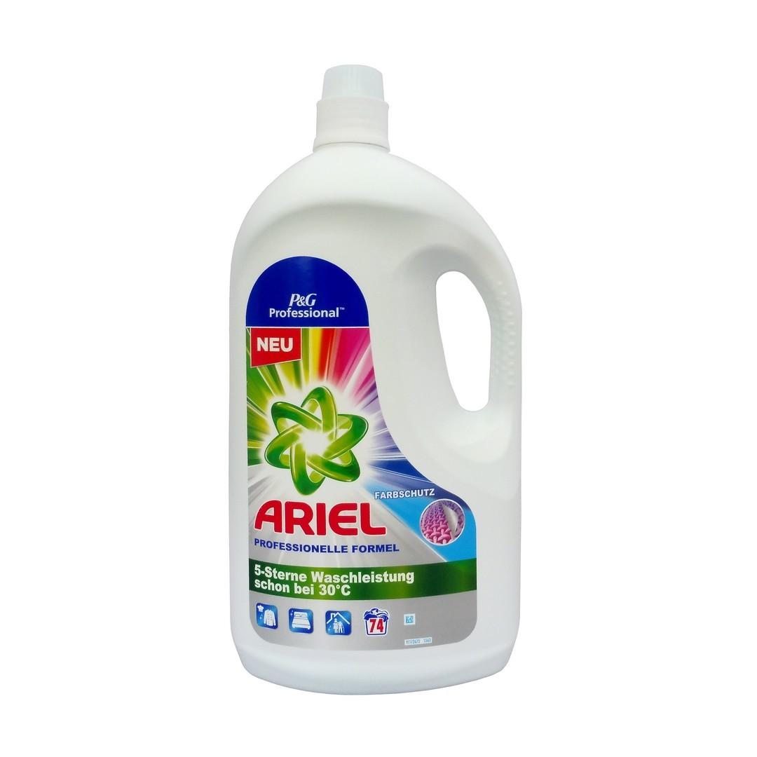 Ariel (USA) ARIEL PROFESSIONAL Prací gel 3,85L (70dávek) Druh prádla Ariel: COLOUR na barevné prádlo (fialový)