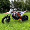 leramotors pitbike spirit 90ccm oranzova 2