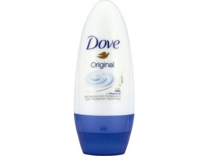 dove kulickovy antiperspirant original touch 50 ml woman