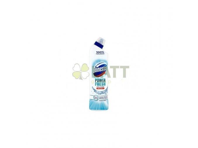domestos total hygiene power fresh wc gel 700 ml