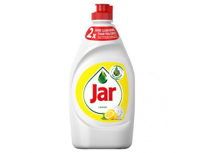 Jar Lemon Tekutý Prostředek Na Mytí Nádobí 450 ml