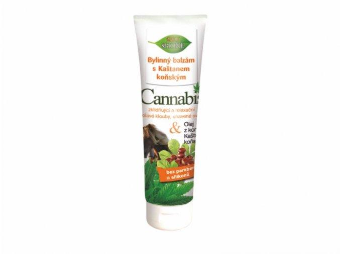 bylinny balzam s kastanem konskym cannabis 300 ml 810