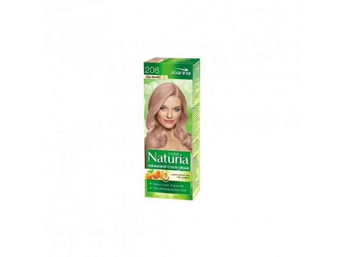 Barva na vlasy NATURIA COLOR - Růžový blond 208