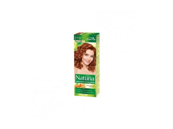 Barva na vlasy NATURIA COLOR - Měděná blond 218