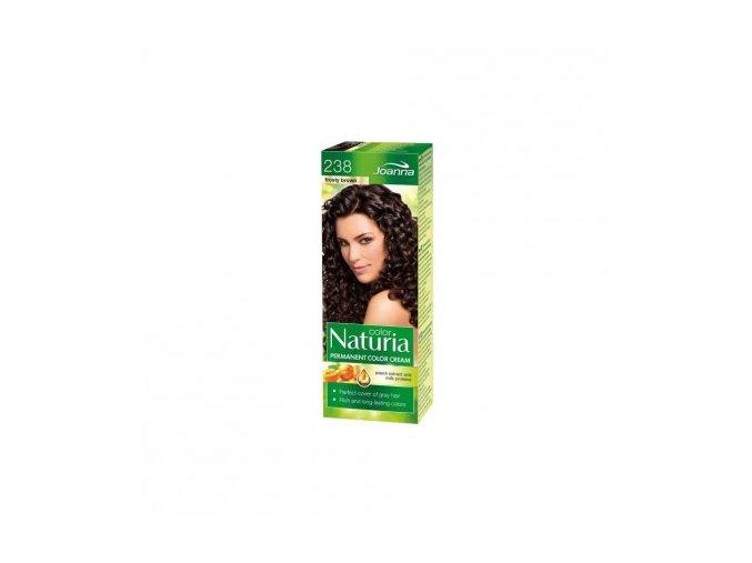 Barva na vlasy NATURIA COLOR - Mrazivá hnědá 238