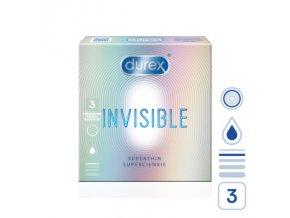 durex invisible 3 pcs