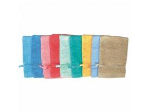 AbellA Žínka froté barevná různé barvy, 21 × 14 cm, 1 kus