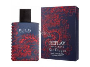 replay signature red drag 385 385 fit