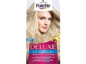 Schwarzkopf Palette Deluxe barva na vlasy Stříbřitě plavá 218