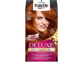 Schwarzkopf Palette Deluxe barva na vlasy Intenzivní zářivě měděný 562