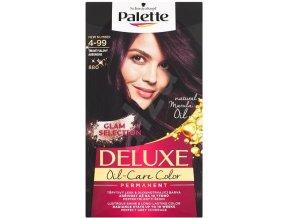 Schwarzkopf Palette Deluxe barva na vlasy Tmavě fialový 800