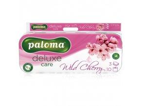 paloma deluxe wild cherry toaletni papir 3 vrstvy bily 150 utrzku 10 ks