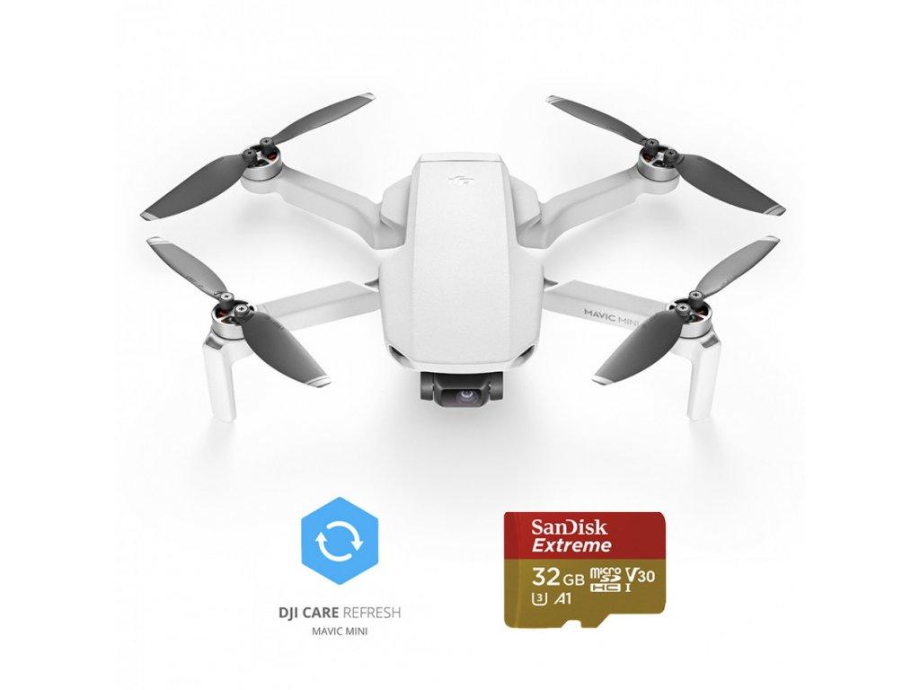 DJI Mavic Mini Fly More Combo + DJI Care Refresh + 32 GB karta Sandisk