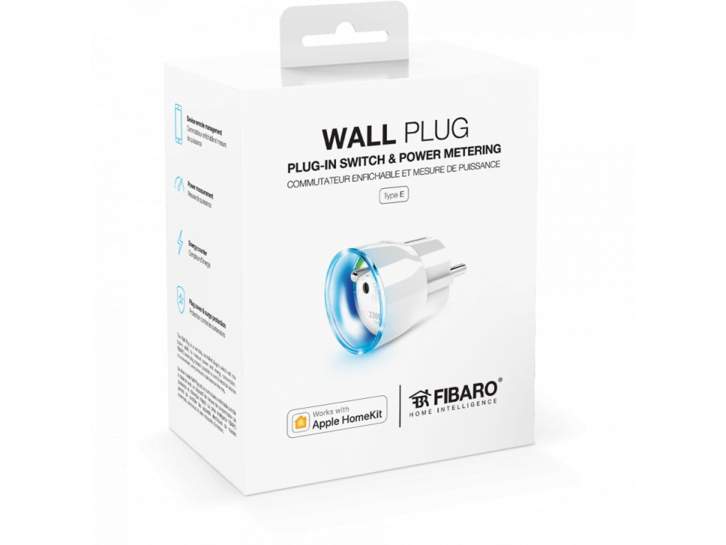 Fibaro Wall Plug type E pre Apple HomeKit