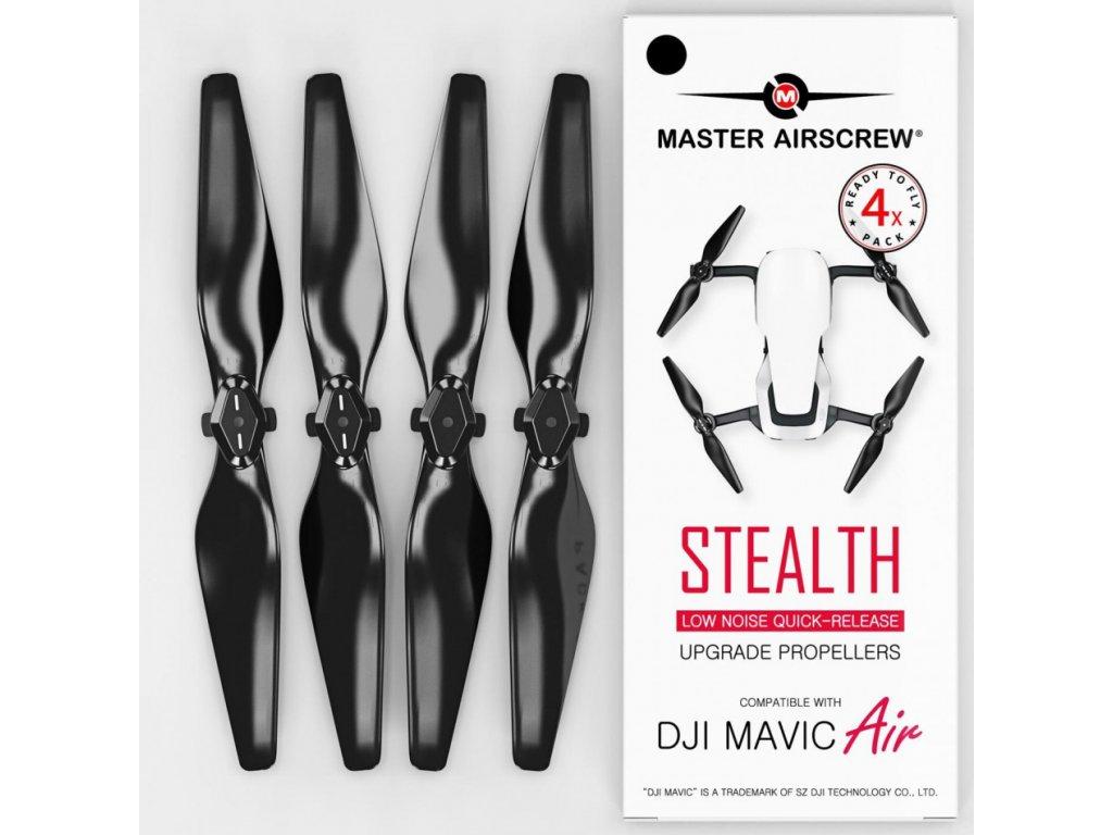Master Airscrew - Vrtule pre Mavic Air (Čierne)