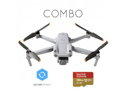 DJI Air 2S Fly More Combo + Care Refresh + Sandisk Extreme 128 GB