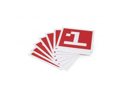 DJI Robomaster S1 - Rozpoznávacie karty