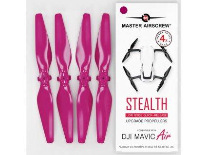 Master Airscrew - Vrtule pre Mavic Air (Magenta)