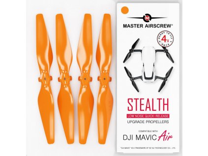 Master Airscrew - Vrtule pre Mavic Air (Oranžové)