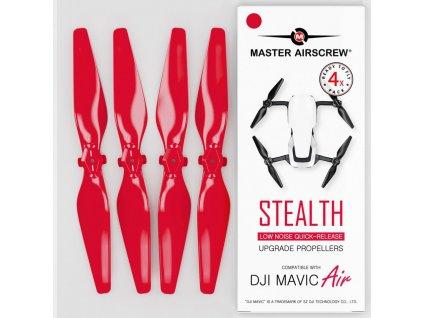 Master Airscrew - Vrtule pre Mavic Air (Červené)