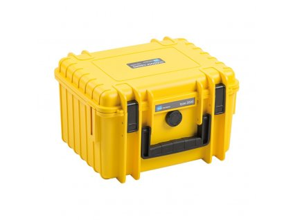 B&W Type 2000 kufor pre DJI Mini 2 (Oranžový)