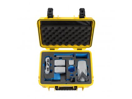 B&W Type 4000 kufor pre DJI Mavic Air 2 (Žltý)