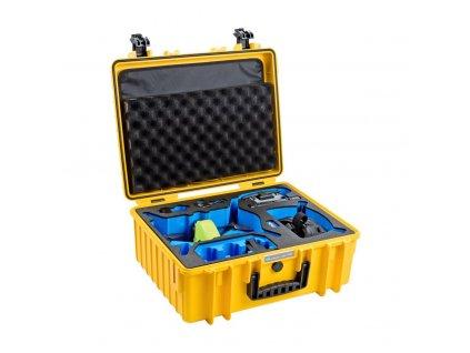 B&W Type 6000 - Kufor pre DJI FPV (Žltý)
