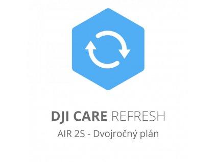 DJI Care Refresh (DJI Air 2S) - Dvojročný plán (Kartička)