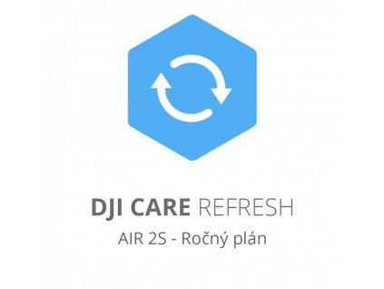 DJI Care Refresh (DJI Air 2S) - Ročný plán (Kartička)