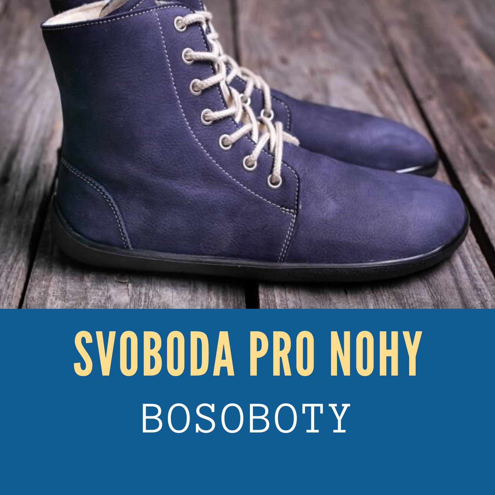 Bosobotky: svoboda pro nohy
