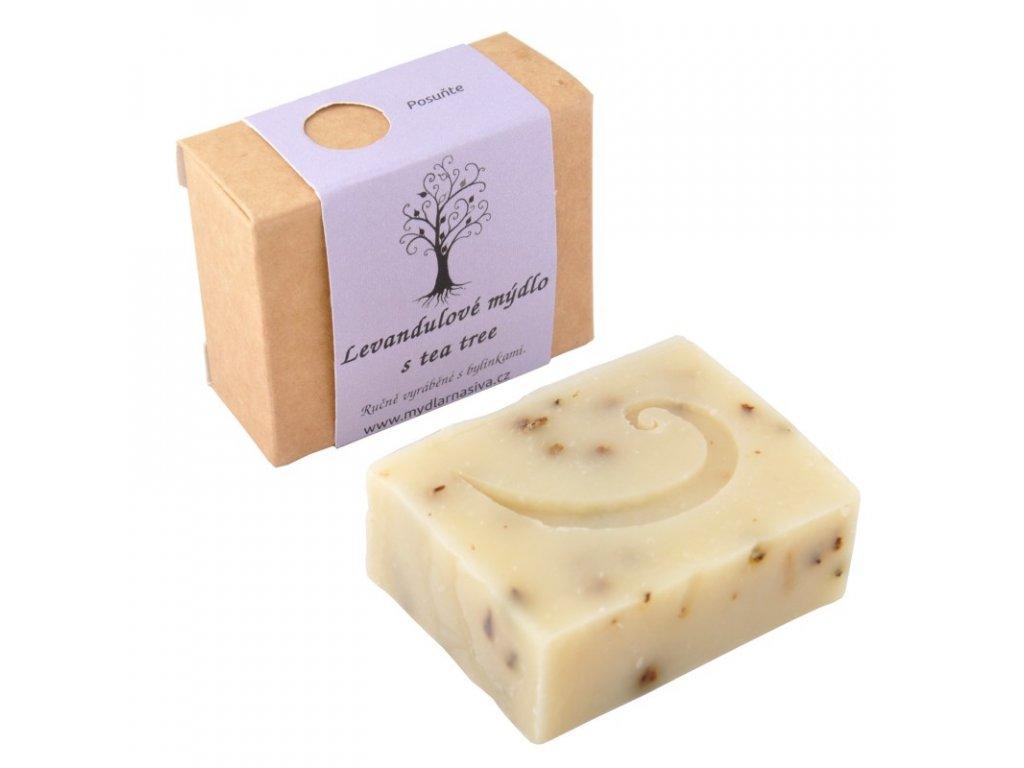 Levandulové mýdlo s tea tree 1