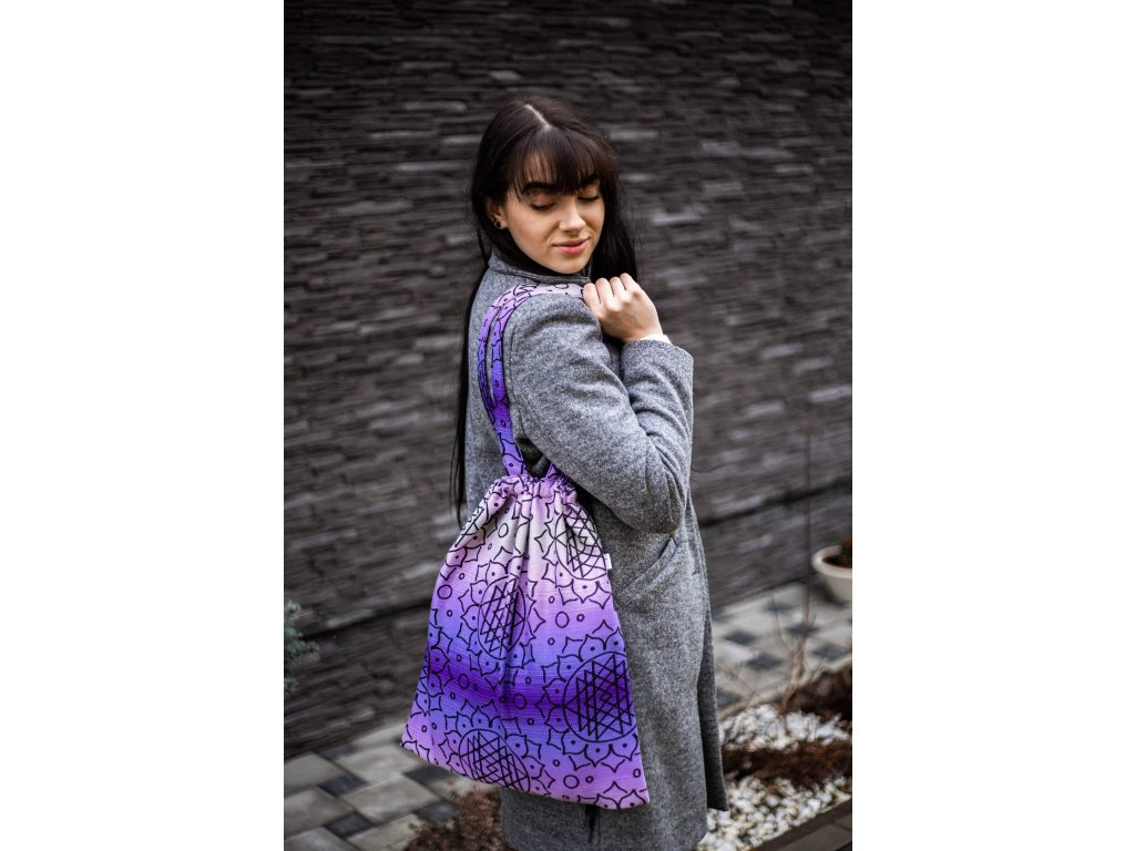 Taška Be Lenka - Shri Yantra - Violet