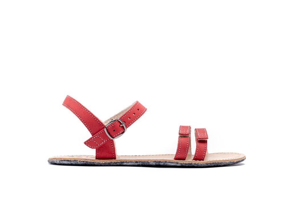 Barefoot sandály Be Lenka Summer - Red '20