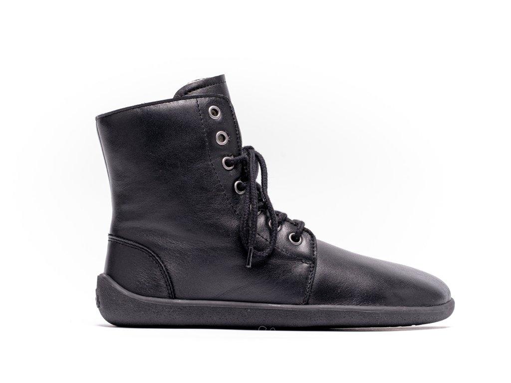 Barefoot kotníkové boty Be Lenka Winter – Black