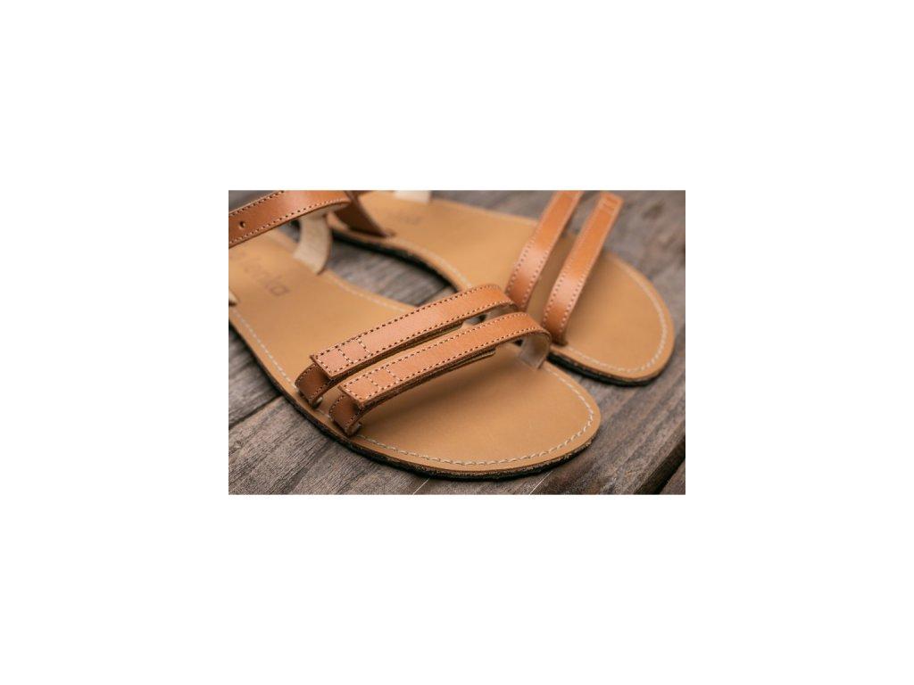 Barefoot sandály Summer hnědé 5