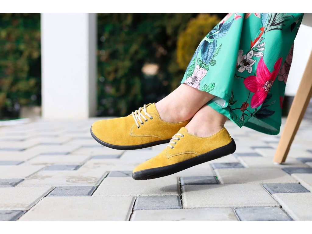 Barefoot Be Lenka City - Mustard