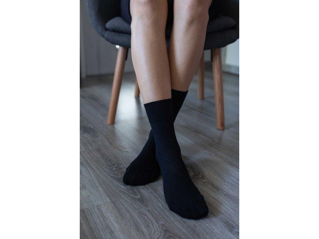 Barefoot ponožky - černé