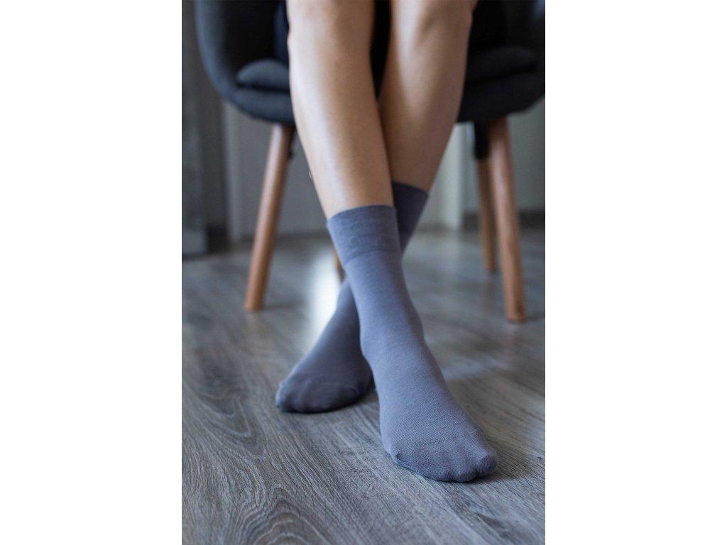 Barefoot ponožky - šedé