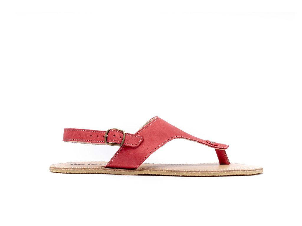 Barefoot sandály Be Lenka Promenade - Red '20