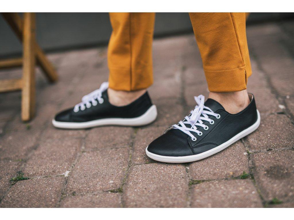 Barefoot tenisky Be Lenka Prime - Black & White
