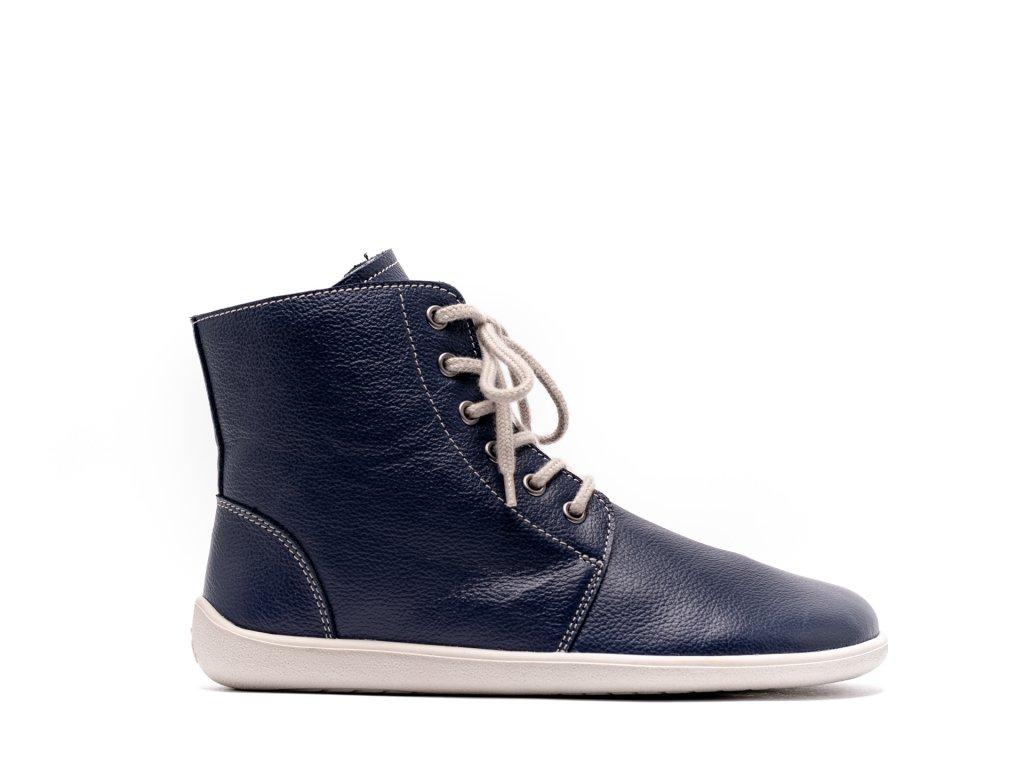 Barefoot kotníkové boty Be Lenka Nord – Navy