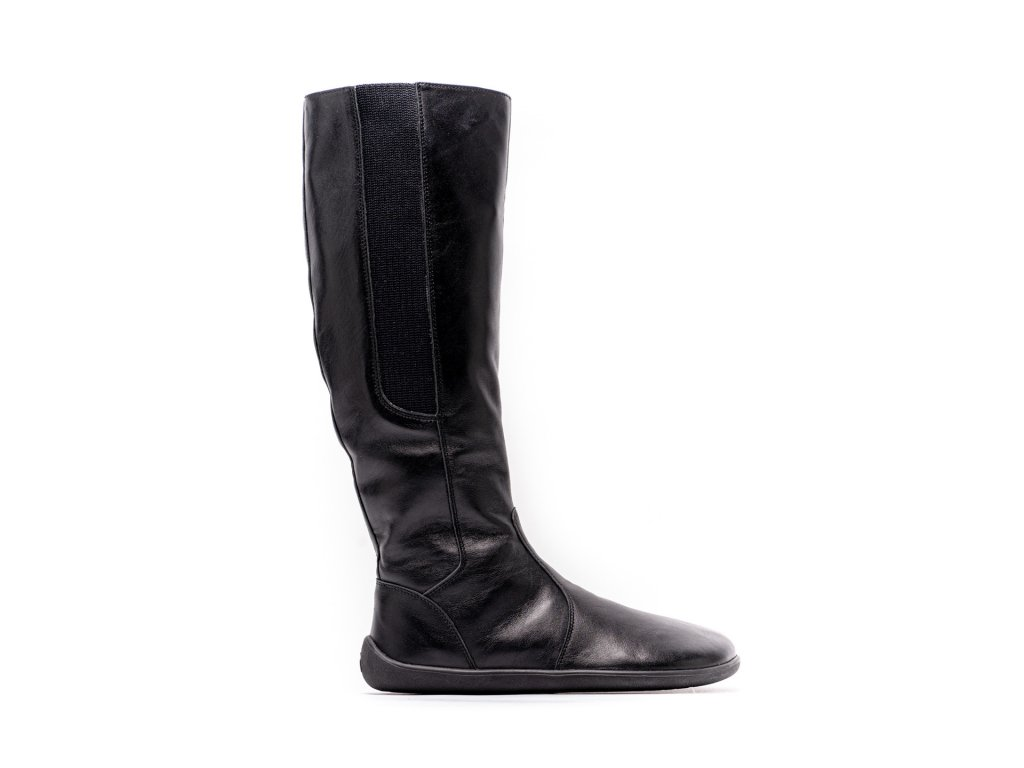 Barefoot kozačky Be Lenka Sierra – Black