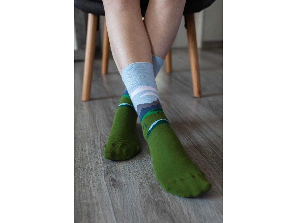 Barefoot ponožky Alpine