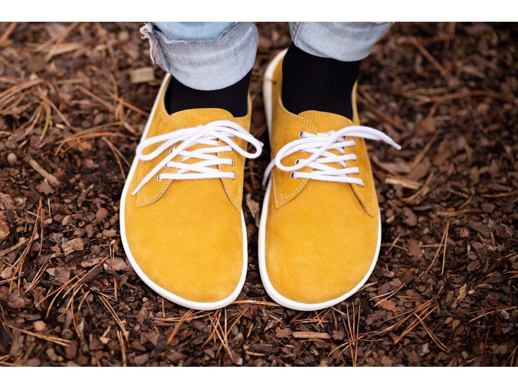 Barefoot Be Lenka City - Mustard & White
